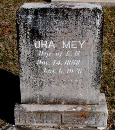 HARDESTY, ORA MEY - Carroll County, Arkansas | ORA MEY HARDESTY - Arkansas Gravestone Photos