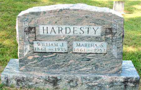 HARDESTY, WILLIAM  J - Carroll County, Arkansas | WILLIAM  J HARDESTY - Arkansas Gravestone Photos