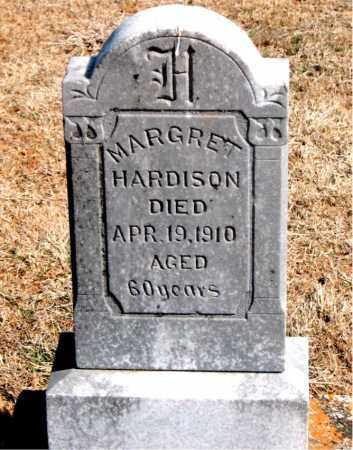 HARDISON, MARGRET - Carroll County, Arkansas | MARGRET HARDISON - Arkansas Gravestone Photos