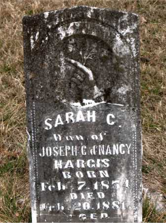 HARGIS, SARAH C. - Carroll County, Arkansas | SARAH C. HARGIS - Arkansas Gravestone Photos