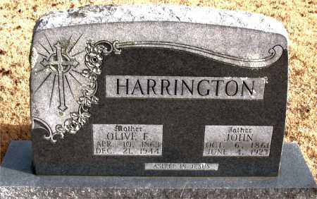 HARRINGTON, JOHN - Carroll County, Arkansas | JOHN HARRINGTON - Arkansas Gravestone Photos