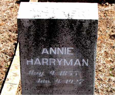 HARRYMAN, ANNIE - Carroll County, Arkansas | ANNIE HARRYMAN - Arkansas Gravestone Photos