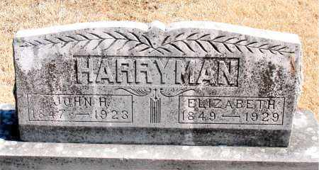 HARRYMAN, JOHN H. - Carroll County, Arkansas | JOHN H. HARRYMAN - Arkansas Gravestone Photos