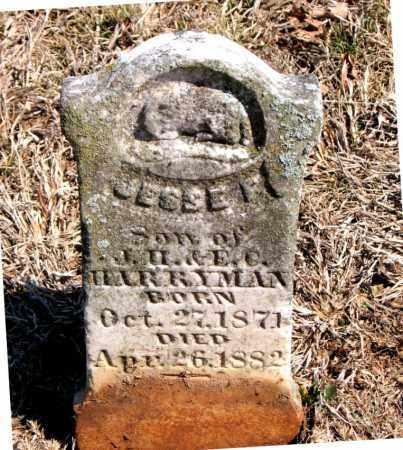 HARRYMAN, JESSE F. - Carroll County, Arkansas | JESSE F. HARRYMAN - Arkansas Gravestone Photos
