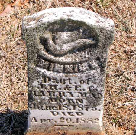 HARRYMAN, MINNIE - Carroll County, Arkansas | MINNIE HARRYMAN - Arkansas Gravestone Photos