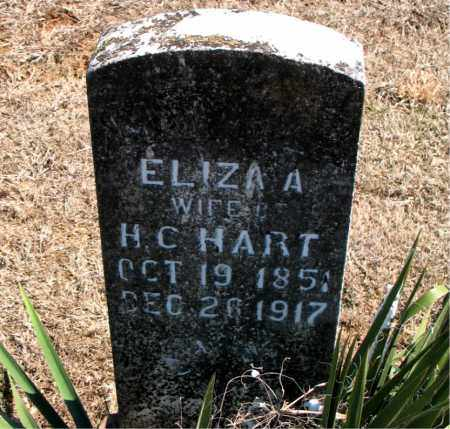 HART, ELIZA A. - Carroll County, Arkansas | ELIZA A. HART - Arkansas Gravestone Photos