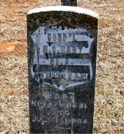 HART (VETERAN UNION), H. C. - Carroll County, Arkansas | H. C. HART (VETERAN UNION) - Arkansas Gravestone Photos
