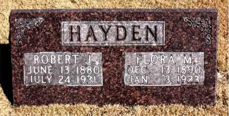 HAYDEN, ROBERT J - Carroll County, Arkansas | ROBERT J HAYDEN - Arkansas Gravestone Photos