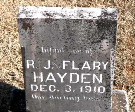 HAYDEN, TWINS  R.J  AND  FLARY - Carroll County, Arkansas | TWINS  R.J  AND  FLARY HAYDEN - Arkansas Gravestone Photos
