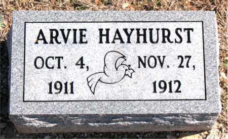 HAYHURST, ARVIE - Carroll County, Arkansas | ARVIE HAYHURST - Arkansas Gravestone Photos