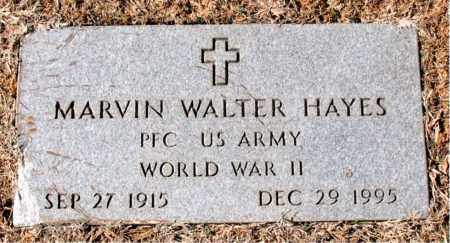 HAYS  (VETERAN WWII), MARVIN WALTER - Carroll County, Arkansas | MARVIN WALTER HAYS  (VETERAN WWII) - Arkansas Gravestone Photos