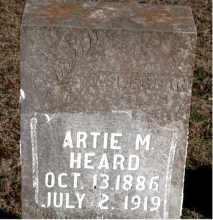 HEARD, ARTIE M. - Carroll County, Arkansas | ARTIE M. HEARD - Arkansas Gravestone Photos