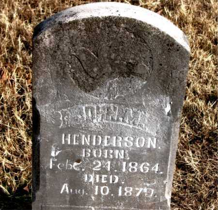 HENDERSON, JOHN M - Carroll County, Arkansas | JOHN M HENDERSON - Arkansas Gravestone Photos
