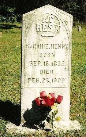 BOBBITT HENRY, SARAH E - Carroll County, Arkansas | SARAH E BOBBITT HENRY - Arkansas Gravestone Photos