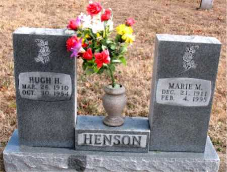 HENSON, HUGH H. - Carroll County, Arkansas | HUGH H. HENSON - Arkansas Gravestone Photos