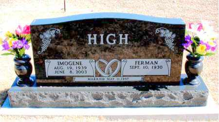 HIGH, IMOGENE - Carroll County, Arkansas | IMOGENE HIGH - Arkansas Gravestone Photos