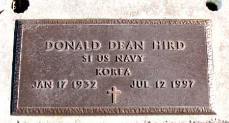 HIRD  (VETERAN KOR), DONALD DEAN - Carroll County, Arkansas | DONALD DEAN HIRD  (VETERAN KOR) - Arkansas Gravestone Photos