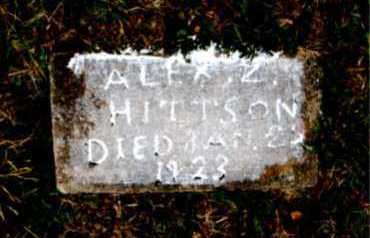 HITTSON, ALEX  Z. - Carroll County, Arkansas | ALEX  Z. HITTSON - Arkansas Gravestone Photos