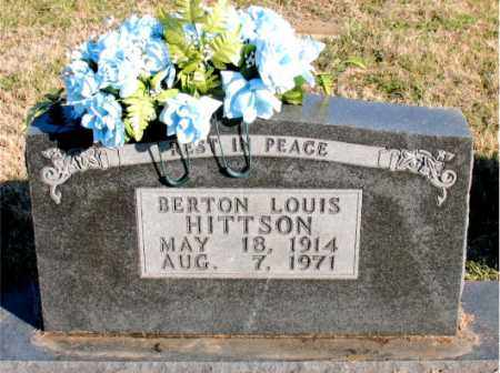 HITTSON, BERTON  LOUIS - Carroll County, Arkansas | BERTON  LOUIS HITTSON - Arkansas Gravestone Photos