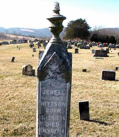 HITTSON, JEWELL - Carroll County, Arkansas | JEWELL HITTSON - Arkansas Gravestone Photos