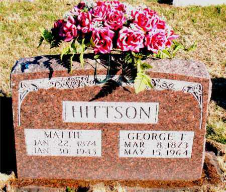 HITTSON, MATTIE - Carroll County, Arkansas | MATTIE HITTSON - Arkansas Gravestone Photos