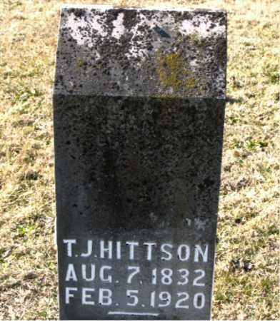 HITTSON, T.  J. - Carroll County, Arkansas | T.  J. HITTSON - Arkansas Gravestone Photos