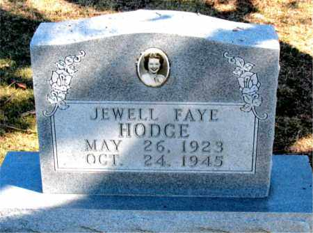 HODGE, JEWELL FAYE - Carroll County, Arkansas | JEWELL FAYE HODGE - Arkansas Gravestone Photos