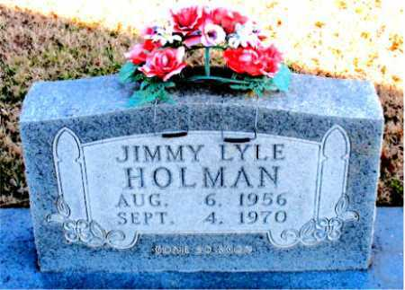 HOLMAN, JIMMY LYLE - Carroll County, Arkansas | JIMMY LYLE HOLMAN - Arkansas Gravestone Photos