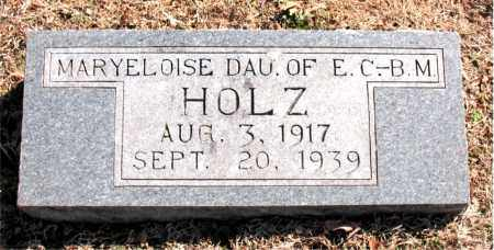 HOLZ, MARYELOISE - Carroll County, Arkansas | MARYELOISE HOLZ - Arkansas Gravestone Photos