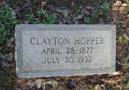 HOPPER, THOMAS CLAYTON - Carroll County, Arkansas | THOMAS CLAYTON HOPPER - Arkansas Gravestone Photos