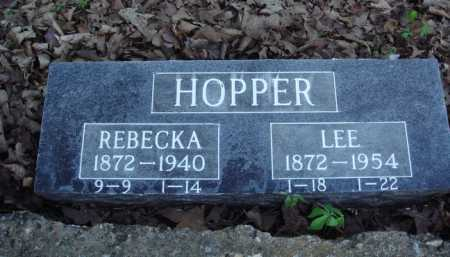 HOPPER, LEE - Carroll County, Arkansas | LEE HOPPER - Arkansas Gravestone Photos