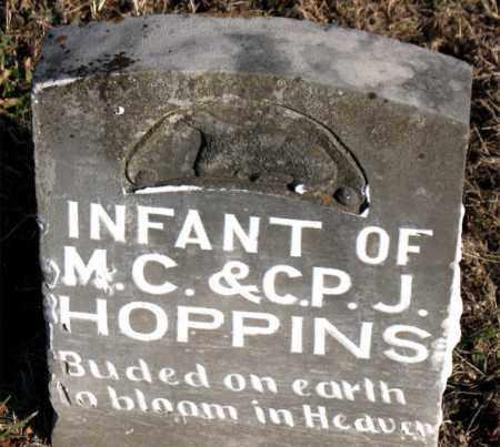 HOPPINS, INFANT - Carroll County, Arkansas | INFANT HOPPINS - Arkansas Gravestone Photos