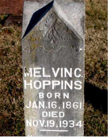 HOPPINS, MELVIN  C. - Carroll County, Arkansas | MELVIN  C. HOPPINS - Arkansas Gravestone Photos