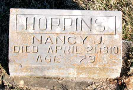 HOPPINS, NANCY  J. - Carroll County, Arkansas | NANCY  J. HOPPINS - Arkansas Gravestone Photos