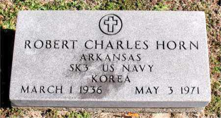 HORN  (VETERAN KOR), ROBERT CHARLES - Carroll County, Arkansas | ROBERT CHARLES HORN  (VETERAN KOR) - Arkansas Gravestone Photos