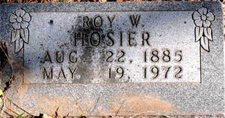 HOSIER, ROY W. - Carroll County, Arkansas | ROY W. HOSIER - Arkansas Gravestone Photos