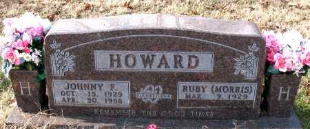 HOWARD, JOHNNY F. - Carroll County, Arkansas | JOHNNY F. HOWARD - Arkansas Gravestone Photos