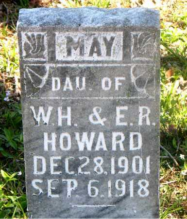 HOWARD, MAY - Carroll County, Arkansas | MAY HOWARD - Arkansas Gravestone Photos