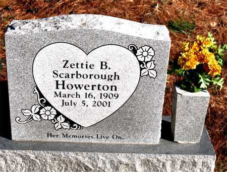 HOWERTON, ZETTIE B. - Carroll County, Arkansas | ZETTIE B. HOWERTON - Arkansas Gravestone Photos