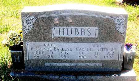 HUBBS, FLORENCE EARLENE - Carroll County, Arkansas | FLORENCE EARLENE HUBBS - Arkansas Gravestone Photos