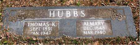 HUBBS, THOMAS K - Carroll County, Arkansas | THOMAS K HUBBS - Arkansas Gravestone Photos
