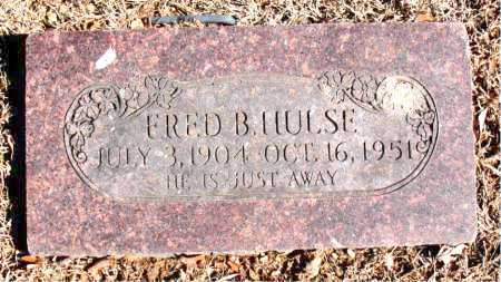 HULSE, FRED B. - Carroll County, Arkansas | FRED B. HULSE - Arkansas Gravestone Photos