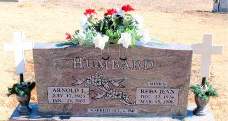 HUMBARD, ARNOLD J. - Carroll County, Arkansas | ARNOLD J. HUMBARD - Arkansas Gravestone Photos