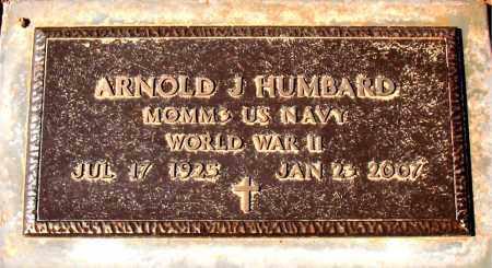 HUMBARD (VETERAN WWII), ARNOLD J - Carroll County, Arkansas | ARNOLD J HUMBARD (VETERAN WWII) - Arkansas Gravestone Photos