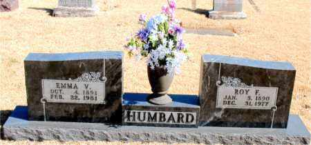 HUMBARD, ROY F. - Carroll County, Arkansas | ROY F. HUMBARD - Arkansas Gravestone Photos
