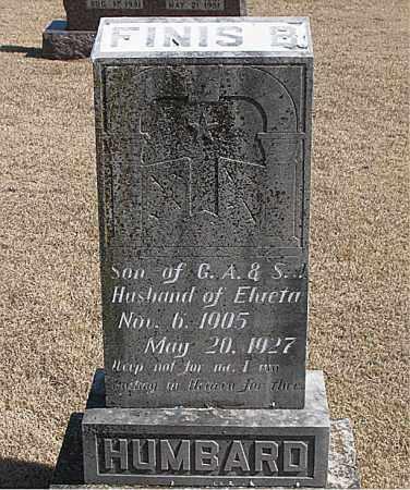 HUMBARD, FINIS B. - Carroll County, Arkansas | FINIS B. HUMBARD - Arkansas Gravestone Photos