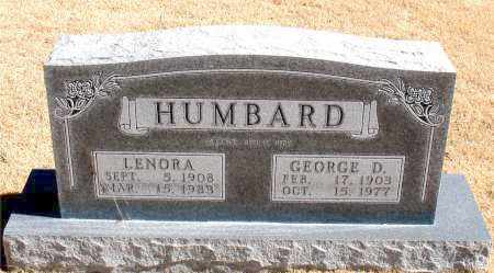 HUMBARD, GEORGE D. - Carroll County, Arkansas | GEORGE D. HUMBARD - Arkansas Gravestone Photos