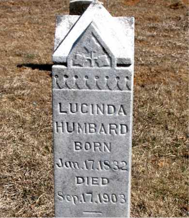 HUMBARD, LUCINDA - Carroll County, Arkansas | LUCINDA HUMBARD - Arkansas Gravestone Photos