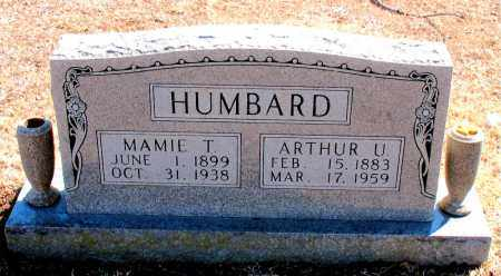 HUMBARD, MAMIE T. - Carroll County, Arkansas | MAMIE T. HUMBARD - Arkansas Gravestone Photos