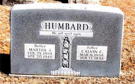 HUMBARD, MARTHA  J. - Carroll County, Arkansas | MARTHA  J. HUMBARD - Arkansas Gravestone Photos